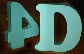 Рекламное агенство и наши 4D буквы