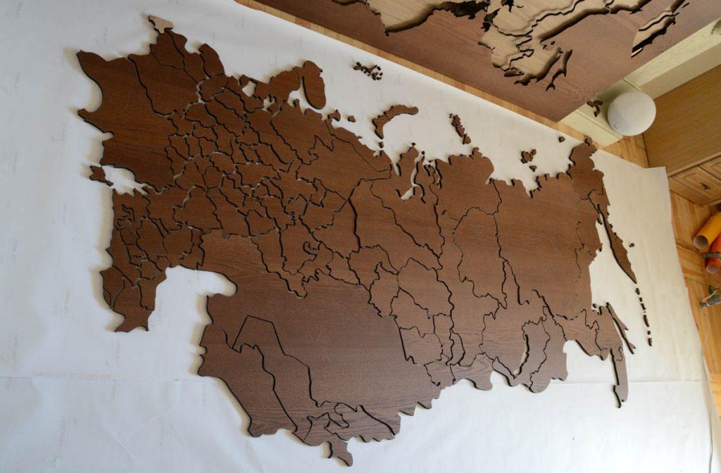 Карта СНГ-СССР