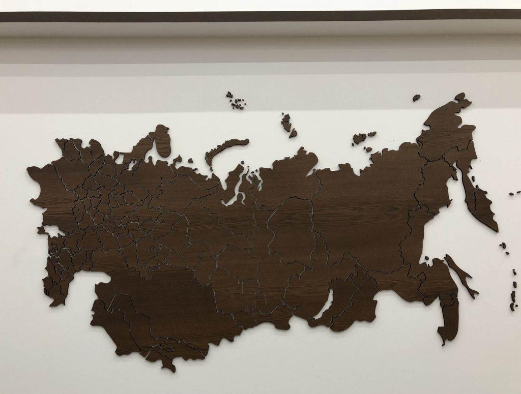 Карта с странами