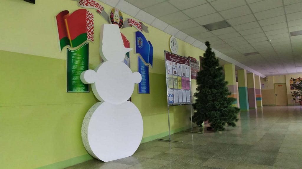 Снеговик в школу